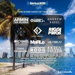 Armada's Music Lounge Take Over (25.03.2015) @ SiriusXM