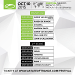 A State Of Trance Festival – Mainstage (10.10.2015) @ Mexico City, Mexico