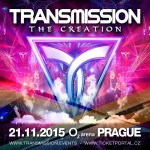 Transmission – The Creation (21.11.2015) @ Prague, Czech Republic