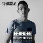 Global DJ Broadcast (11.02.2016) with Markus Schulz & Dimension