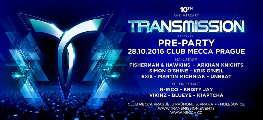 Transmission Pre-Party 2016