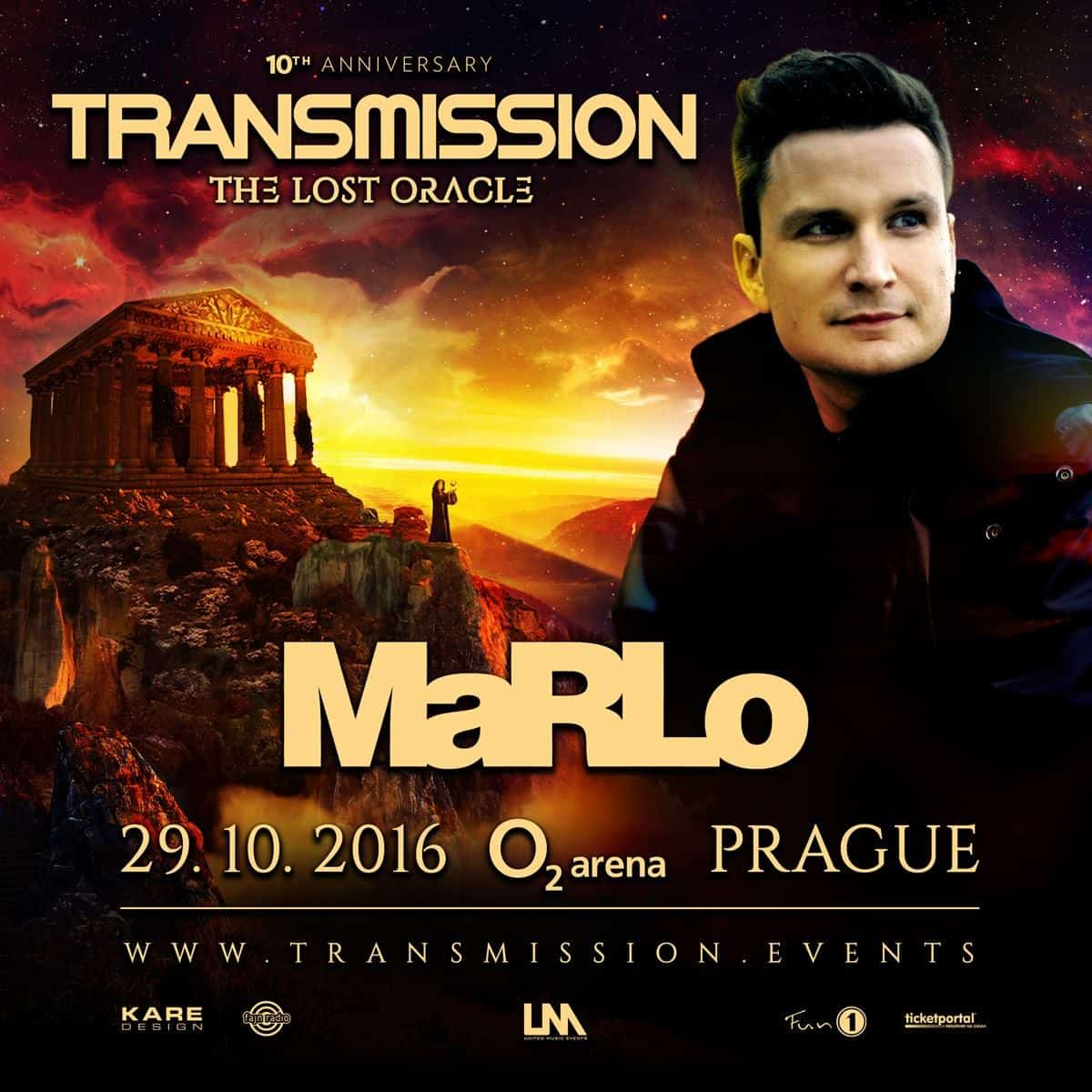 MaRLo live at Transmission - The Lost Oracle (29.10.2016) @ Prague, Czech Republic