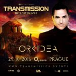 Orkidea live at Transmission – The Lost Oracle (29.10.2016) @ Prague, Czech Republic
