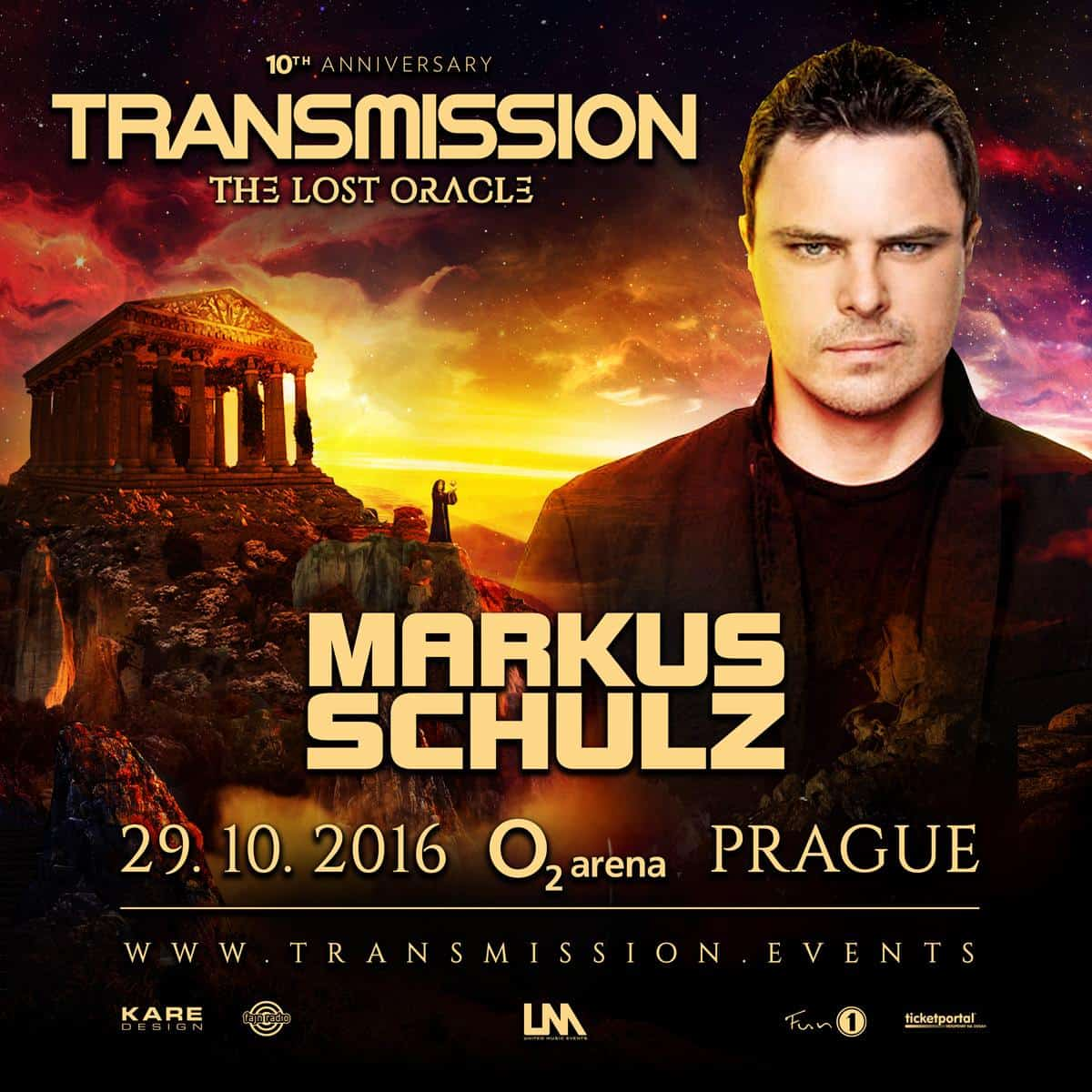 Markus Schulz live at Transmission - The Lost Oracle (29.10.2016) @ Prague, Czech Republic