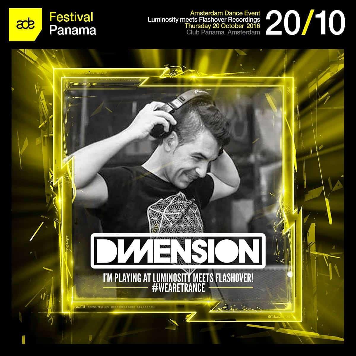 Dimension live at Luminosity meets Flashover Recordings (20.10.2016) @ Amsterdam, Netherlands