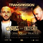 Driftmoon B2B ReOrder live at Transmission – The Lost Oracle (29.10.2016) @ Prague, Czech Republic