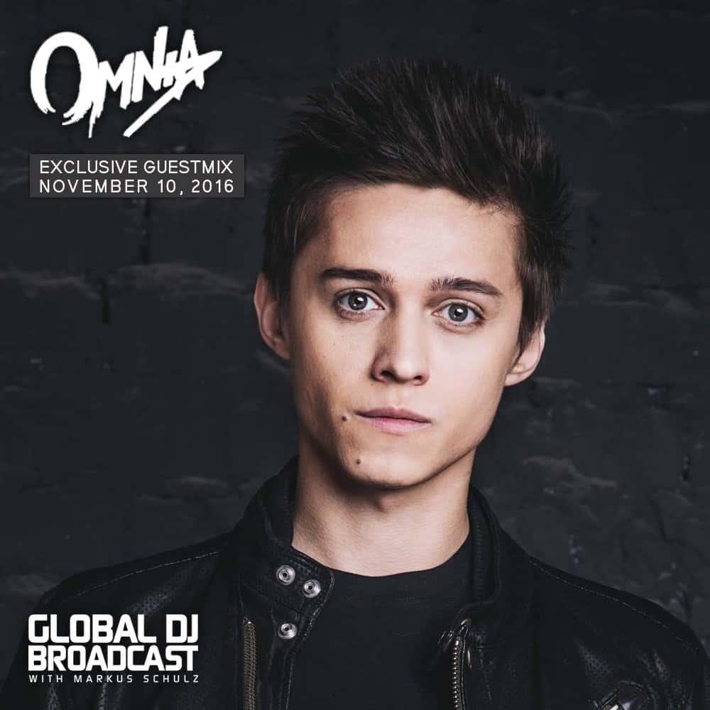 Global DJ Broadcast (10.11.2016) with Markus Schulz & Omnia