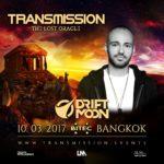Driftmoon live at Transmission – The Lost Oracle (10.03.2017) @ Bangkok, Thailand