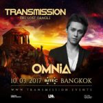 Omnia live at Transmission – The Lost Oracle (10.03.2017) @ Bangkok, Thailand