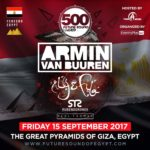 Line Up for Future Sound of Egypt 500 in Egypt revealed!