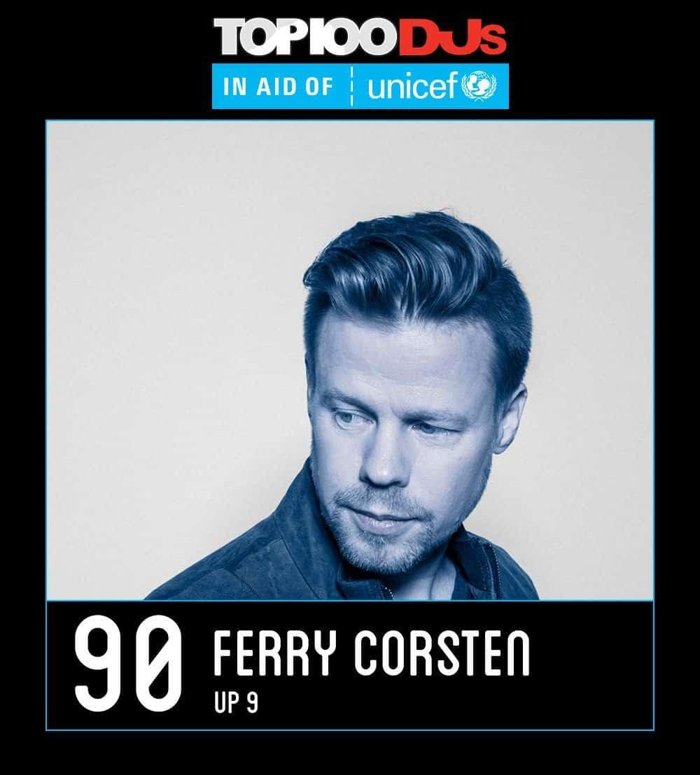Ferry Corsten - DJ Mag Top 100 2017