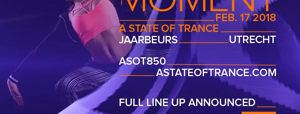 This is the complete Line Up for ASOT850 in Utrecht!