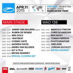 A State Of Trance 700 – Mainstage (11.04.2015) @ Buenos Aires, Argentina