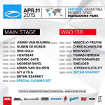 A State Of Trance 700 – WOA138 (11.04.2015) @ Buenos Aires, Argentina