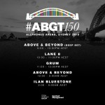 Group Therapy 150 (26.09.2015) @ Sydney, Australia