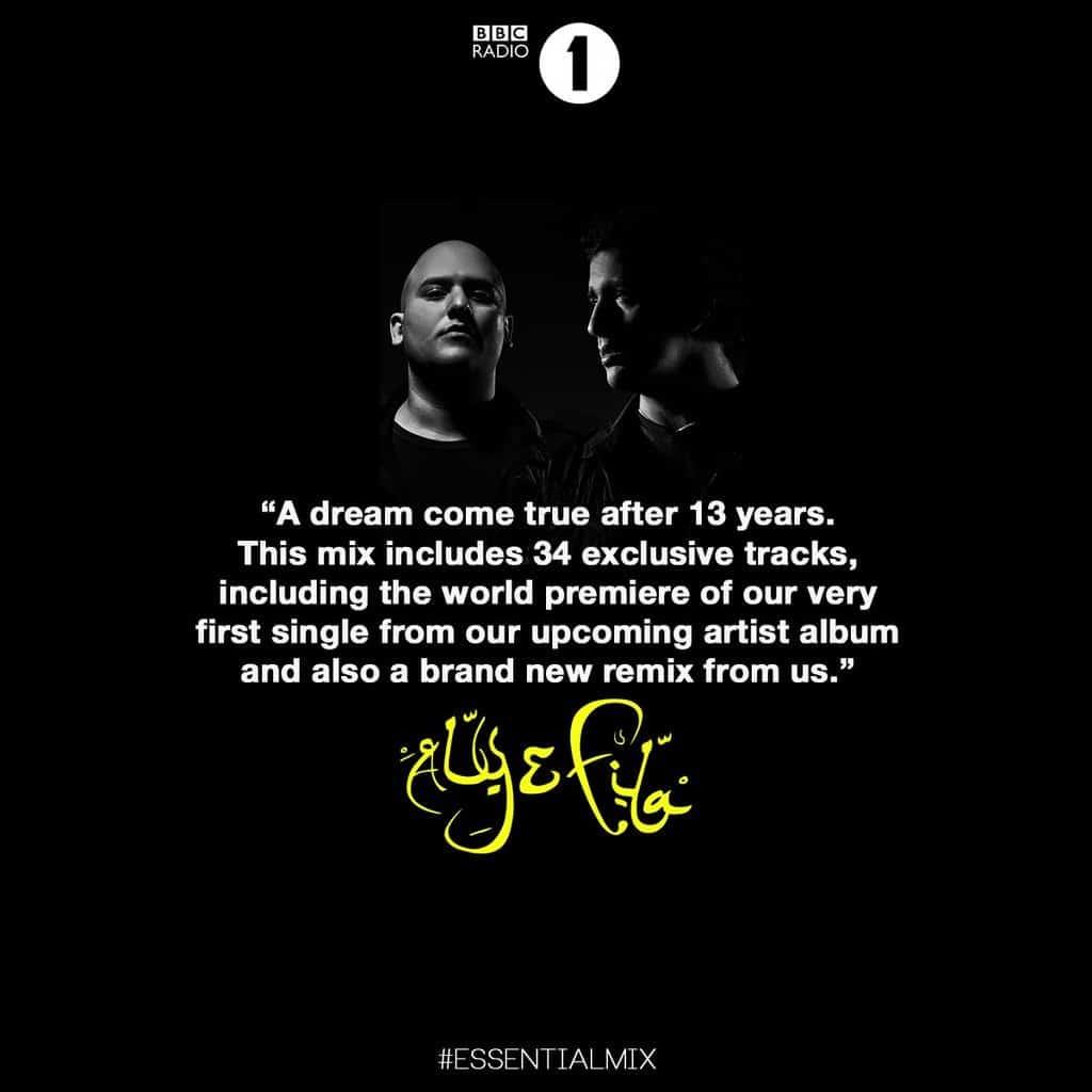 Aly & Fila @ BBC 1