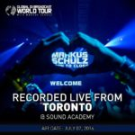 Global DJ Broadcast World Tour: Toronto (07.07.2016) With Markus Schulz