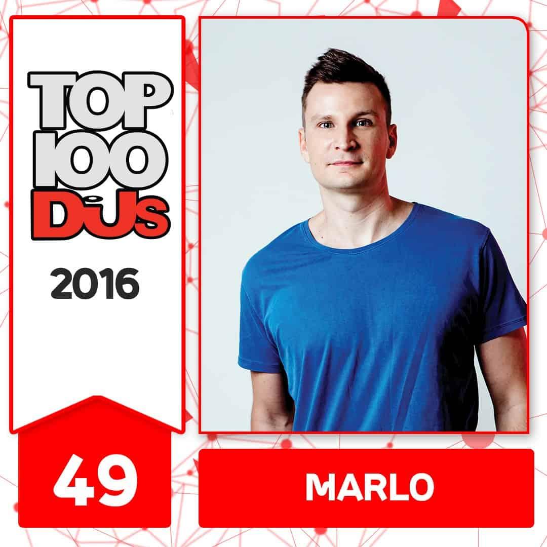 MaRLo at No.49 of the DJ Mag 100 2016