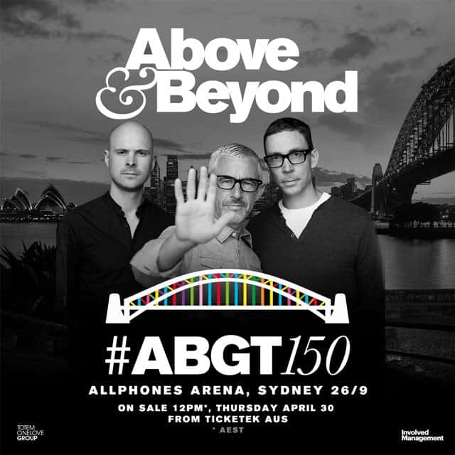 Above & Beyond live at Group Therapy 150