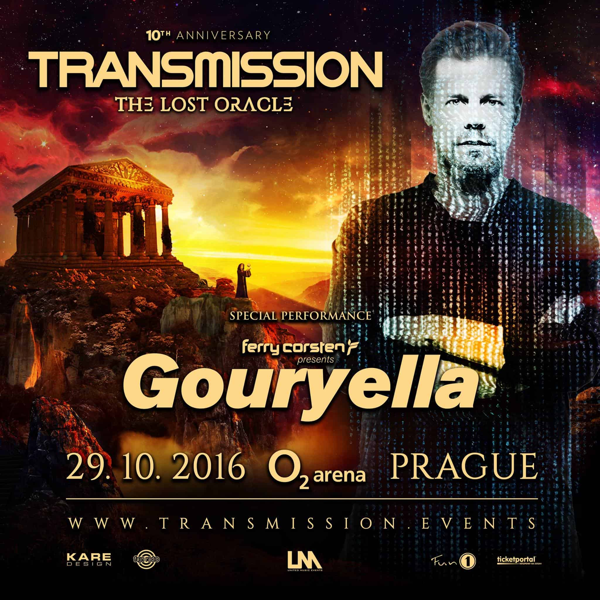 Gouryella live at Transmission - The Lost Oracle (29.10.2016) @ Prague, Czech Republic