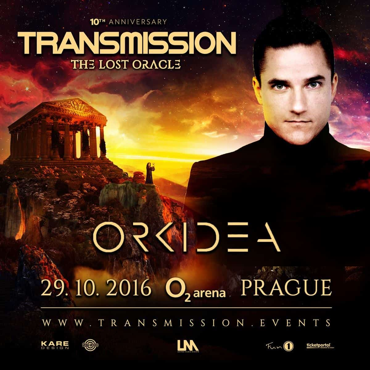 Orkidea live at Transmission - The Lost Oracle (29.10.2016) @ Prague, Czech Republic