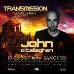 John O'Callaghan live at Transmission – The Lost Oracle (10.03.2017) @ Bangkok, Thailand