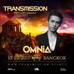 Omnia live at Transmission – The Lost Oracle (10.03.2017) @ Bangkok, Thailand
