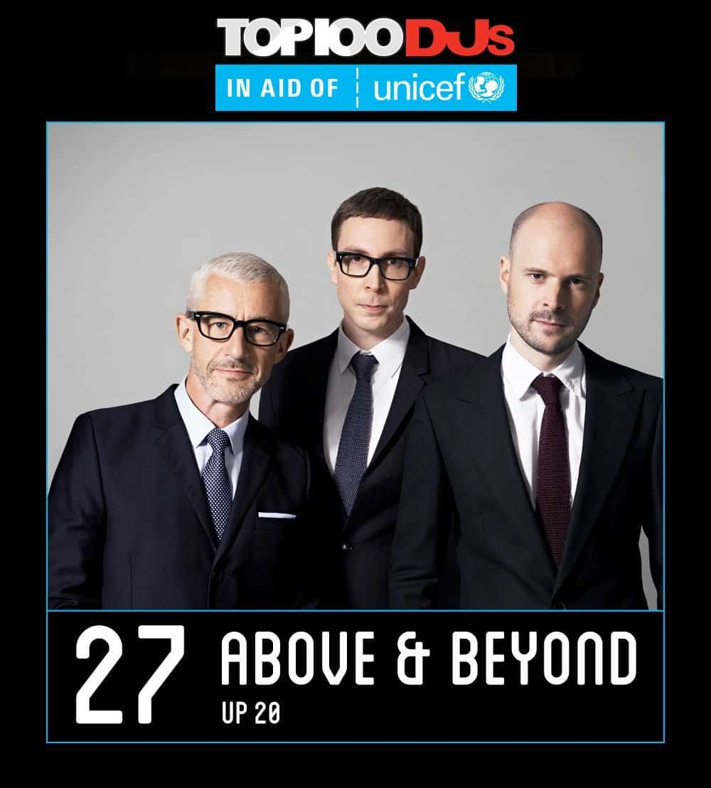 Above & Beyond - DJ Mag Top 100 2017