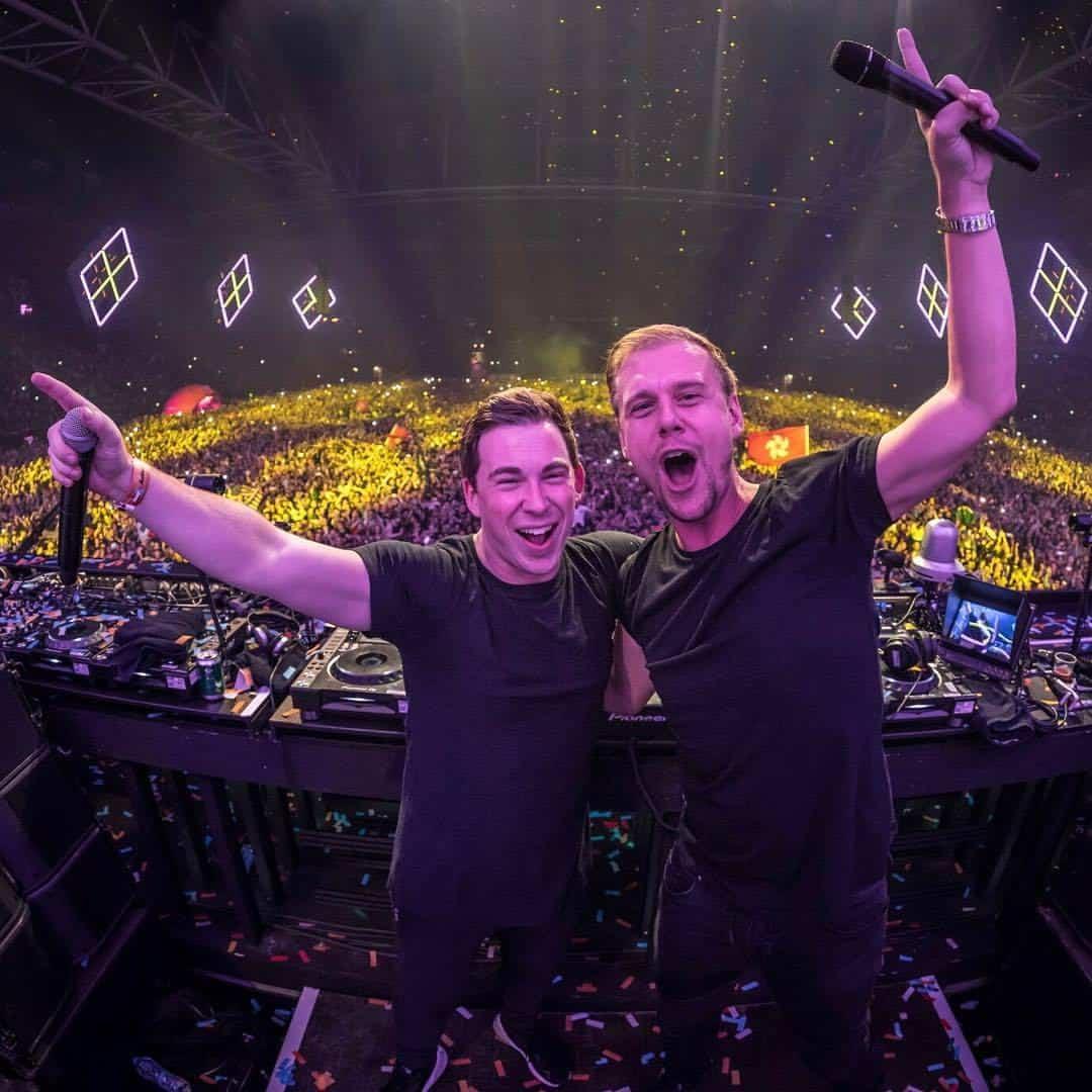 Armin Van Buuren Hardwell Live At Amsterdam Music Festival 2017 21 10 2017 Amsterdam Netherlands
