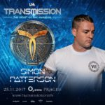 Simon Patterson live at Transmission – The Spirit Of The Warrior (25.11.2017) @ Prague, Czech Republic