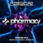 Pharmacy Radio 018 (09.01.2018) with Christopher Lawrence, Simon Patterson & Sidekicks