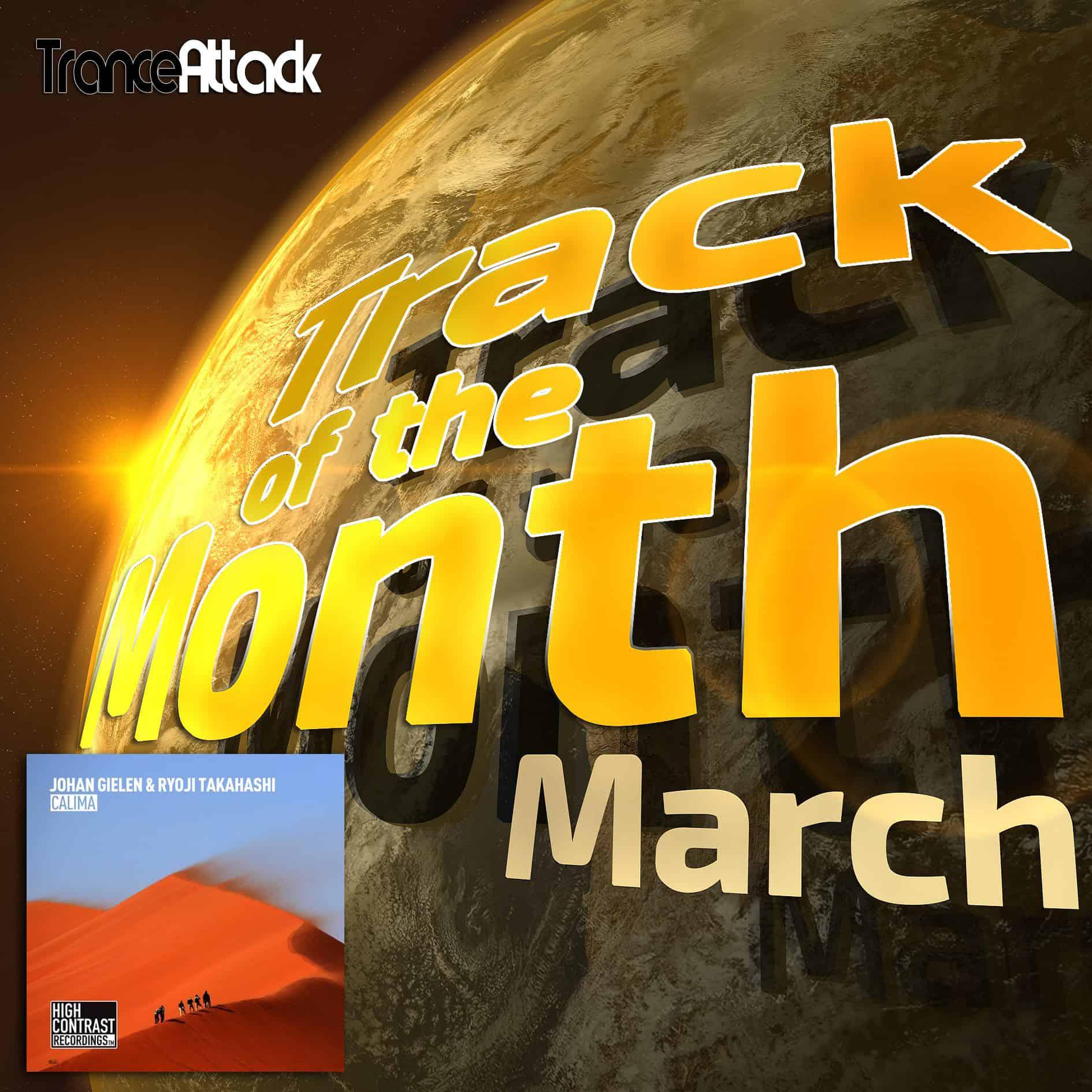 Track Of The Month March 2018: Johan Gielen & Ryoji Takahashi – Calima