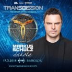Markus Schulz presents Dakota live at Transmission – The Spirit Of The Warrior (17.03.2018) @ Bangkok, Thailand