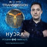The Thrillseekers presents Hydra live at Transmission – The Spirit Of The Warrior (17.03.2018) @ Bangkok, Thailand