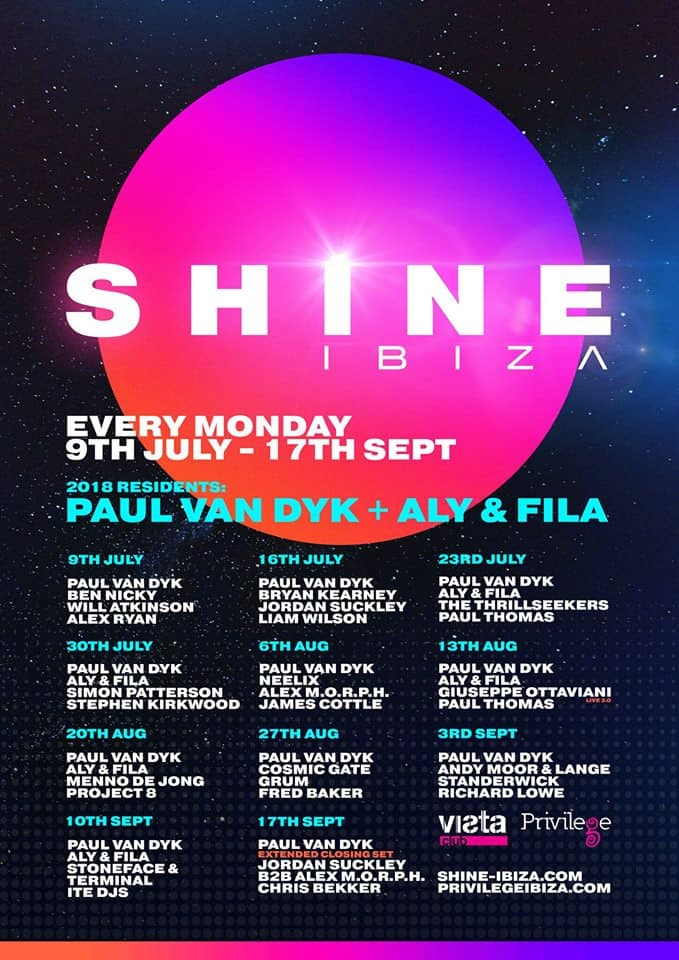 Paul van Dyk and Aly & Fila announce their Ibiza 2018 residency... a new destination for Trance in Ibiza!