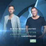 Cosmic Gate live at Tomorrowland 2018 (27.07.2018) @ Boom, Belgium