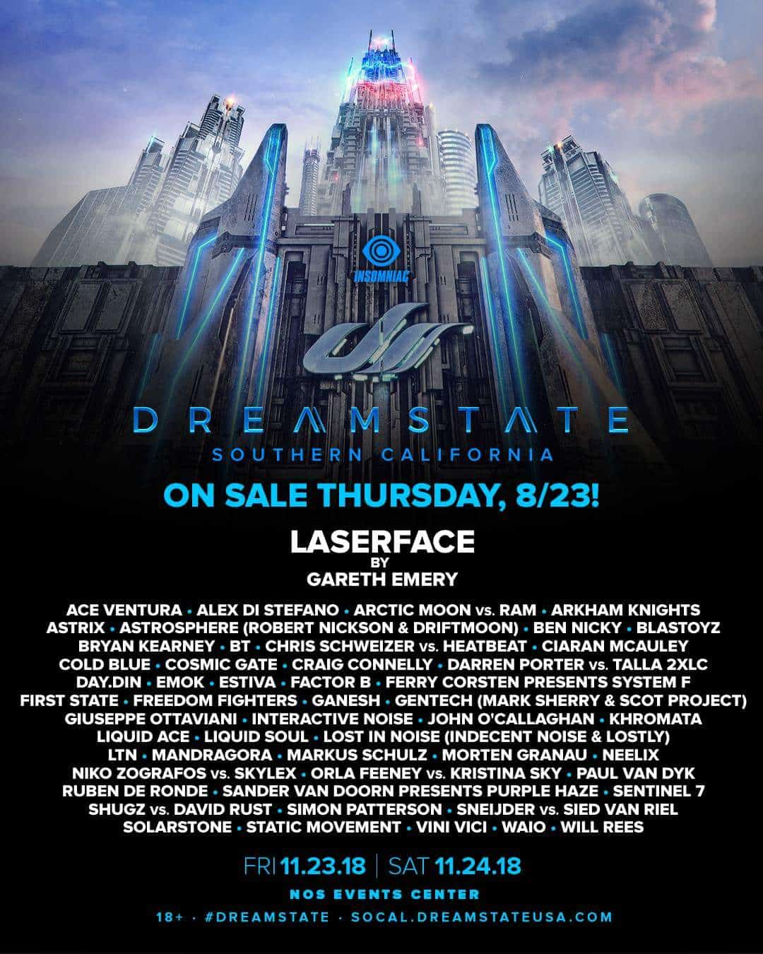 Dreamstate SoCal 2018
