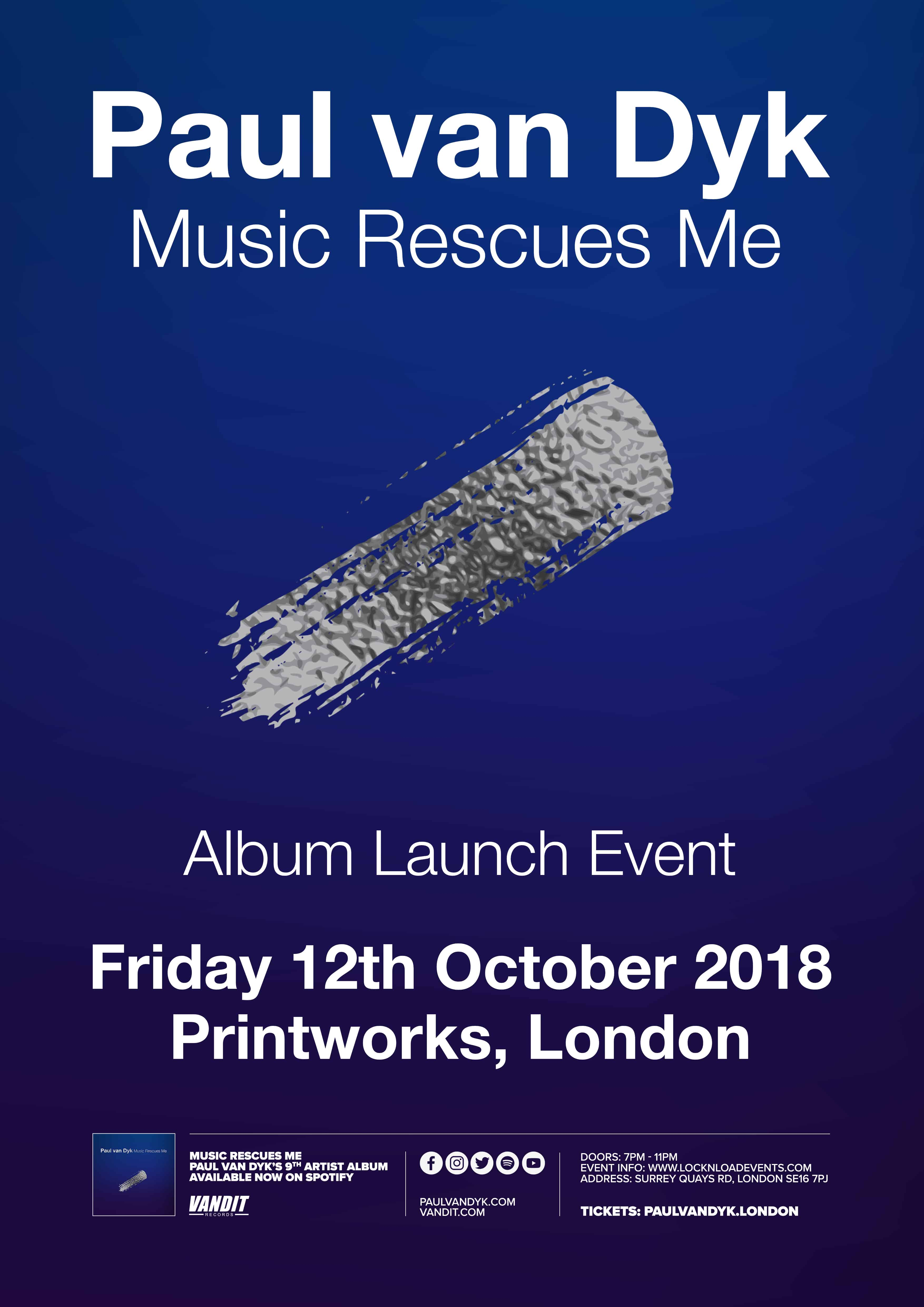 Music Rescues Me Launch Party at Printworks