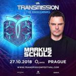 Markus Schulz live at Transmission – The Awakening (27.10.2018) @ Prague, Czech Republic