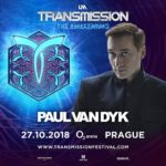Paul van Dyk live at Transmission – The Awakening (27.10.2018) @ Prague, Czech Republic