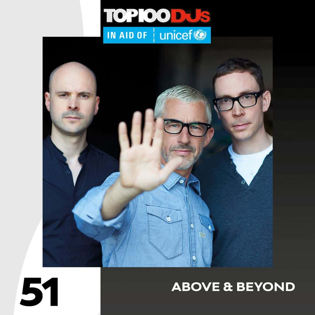 Above & Beyond DJ Mag Top 100 2018