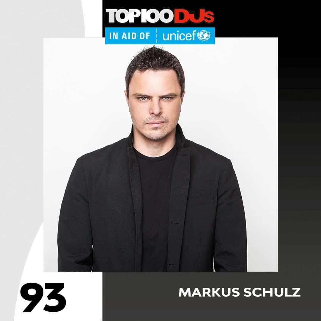 Markus Schulz DJ Mag Top 100 2018
