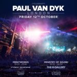 Paul van Dyk live at Music Rescues Me Album Launch Event (12.10.2018) @ Printworks London, UK