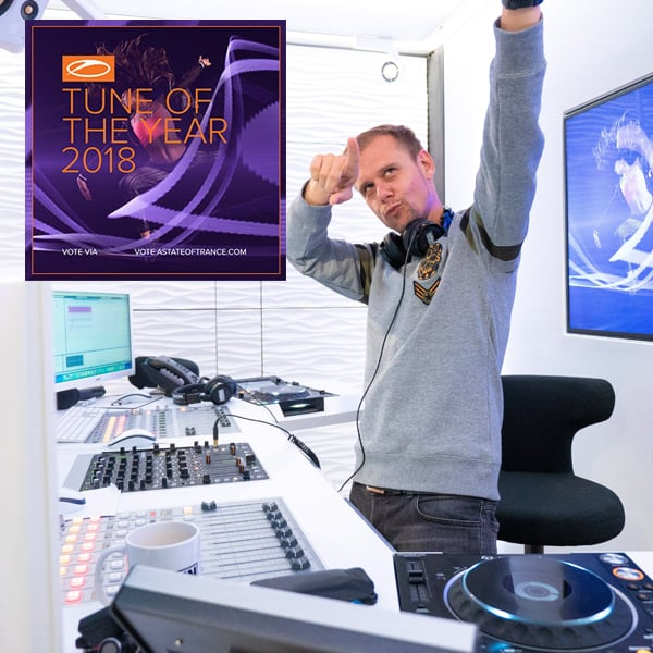 Vote now for the ASOT Tune Of The Year 2018
