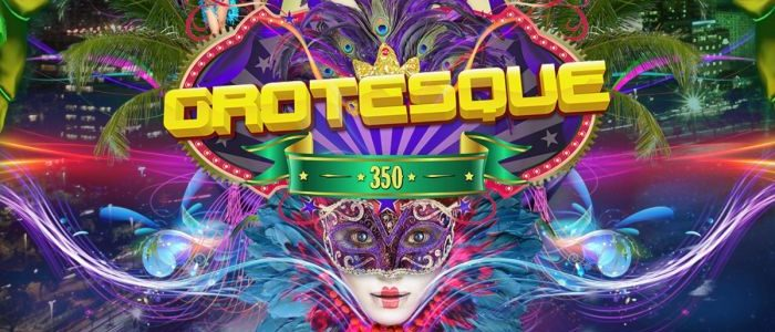 Grotesque 350 mixed by RAM, Alex M.O.R.P.H. & Alex Di Stefano