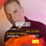 Allen Watts live at A State of Trance 900 (23.02.2019) @ Utrecht, Netherlands