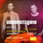 Cosmic Gate live at A State of Trance 900 (23.02.2019) @ Utrecht, Netherlands