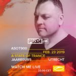 Push live at A State of Trance 900 (23.02.2019) @ Utrecht, Netherlands