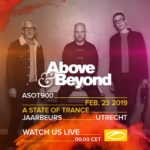 Above & Beyond live at A State of Trance 900 (23.02.2019) @ Utrecht, Netherlands