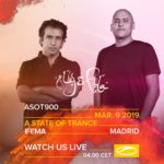Aly & Fila live at A State of Trance 900 (09.03.2019) @ Madrid, Spain